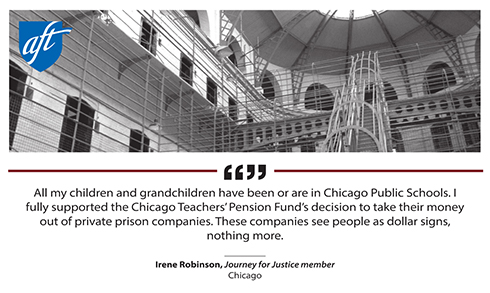 Prison report quote image